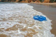 Tube de plage Photographie stock libre de droits
