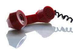tube de téléphone Images stock