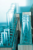 Tube de test médical de biologie de la Science Photos stock