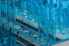 Tube de test médical de biologie de la Science Photographie stock libre de droits