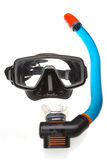 Tube for diving with mask (snorkel) and mask Royalty Free Stock Photography
