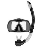 Tube for diving (snorkel) and mask Stock Photos
