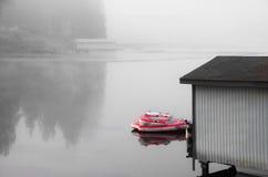 Tube en brouillard Photo libre de droits