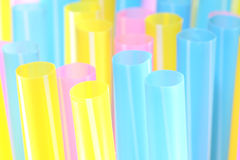 Tube en plastique Photo stock