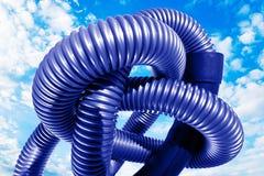 Tube en plastique Images libres de droits