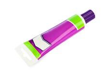 Tube of glue Royalty Free Stock Image