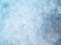Tube ice background Royalty Free Stock Photography