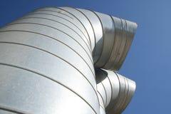 Tube industriel Photographie stock libre de droits