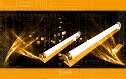 Tube light Stock Image