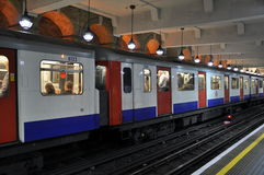 Tube in London, England Royalty Free Stock Image