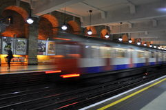 Tube in London, England Royalty Free Stock Photography