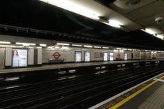 Tube london. London underground subway Stock Photos