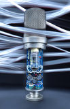 Tube Microphone Royalty Free Stock Photos