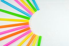 Tube. Multicolored bulbs out and pasted together Stock Photography