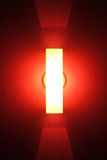 Tube of neon light Royalty Free Stock Photo