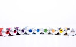 Tube of paint Stock Photo