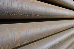 Tube pile Royalty Free Stock Photos