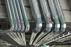 Tube pipes - industry Stock Photos