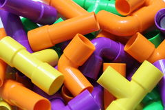 Tube puzzle. Color Tube puzzle for your child Royalty Free Stock Image