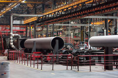 Tube Rolling plant Royalty Free Stock Photo