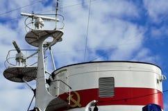 Tube of the ship Stock Photo