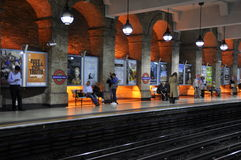 Tube Station in London, England Stock Photo