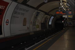 Tube Station in London, England Stock Photos