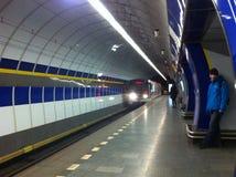 Tube station Stock Image