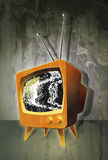 Tube television TV Noise Royalty Free Stock Photography