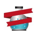 Tube test glass isolated icon Stock Image