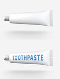 Tube of toothpaste Royalty Free Stock Images