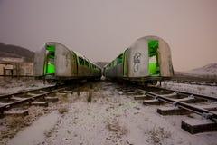 Tube train Stock Image