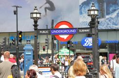 Free Tube Underground Subway London UK Stock Images - 155421344