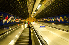 Tube Underground Stock Photos