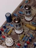 Tube valve radio amplifier, preamplifier Royalty Free Stock Image