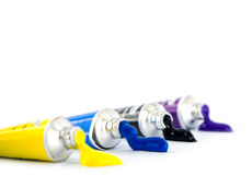 Tube of watercolor Stock Image
