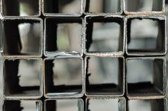 Tubería de acero Imagen de archivo libre de regalías