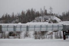 Tubería de Alaska Foto de archivo libre de regalías