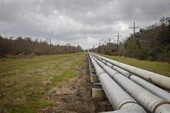 Tubería de la industria para la sustancia química o el petróleo y gas Imagenes de archivo