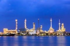 Tubería del petróleo y gas imagen de archivo libre de regalías
