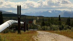 Tubería del transporte Alaska Imagen de archivo