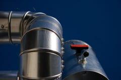 Tubería industrial Imágenes de archivo libres de regalías