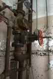 Tubería oxidada del tubo Imagenes de archivo