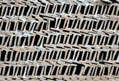 Tuberías de acero Imagen de archivo libre de regalías