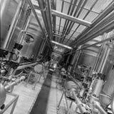 Tuberías industriales Fotos de archivo libres de regalías