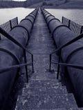 Tuberías industriales Fotografía de archivo libre de regalías