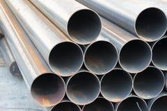 Tubería de acero del carbono Foto de archivo libre de regalías