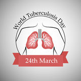 Tuberculosis Day Background Royalty Free Stock Photos