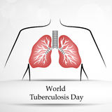 Tuberculosis Day Background Stock Photo