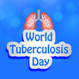 Tuberculosis Day Background Royalty Free Stock Photo